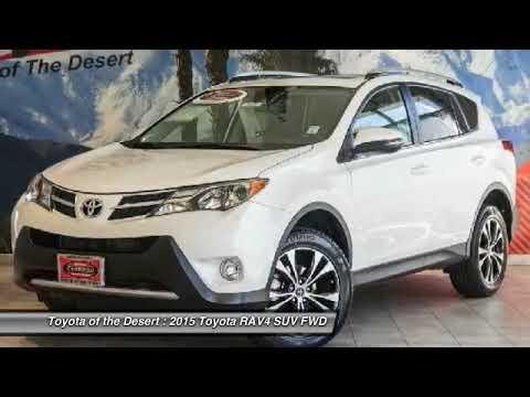 Toyota Of The Desert >> 2015 Toyota Rav4 Cathedral City Ca 39650