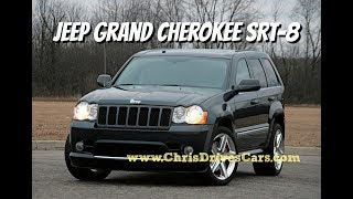 """Jeep Grand Cherokee SRT 8 - """"Chris Drives Cars"""" Video Test Drive Archives"""