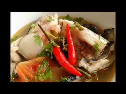Tom Yum Salmon Heads Soup