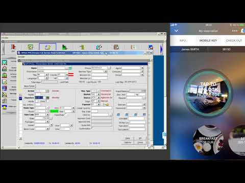 Zaplox Integration with Oracle Opera PMS - YouTube