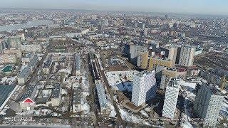видео Аэросъемка жилого комплекса