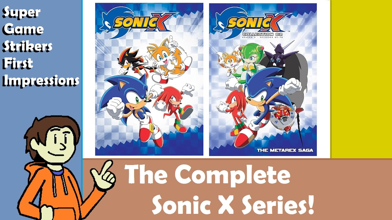 Fotos Do Sonic X pertaining to sgs first impressions - the complete sonic x series dvd collection