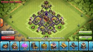 Clash of Clans-BEST! Epic New Th5 Hybrid Base Design