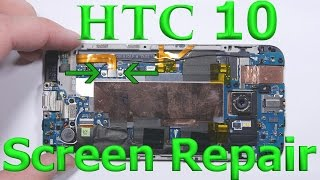 htc 10 full screen replacement charging port fix battery repair new