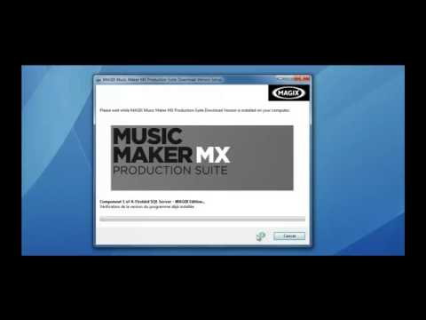How to get Magix Music Maker 18 MX production Suite FULL For Free no survey and password