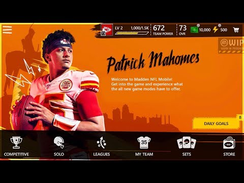 MADDEN MOBILE 20 HOMEPAGE REVEAL