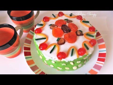 Homemade Cassata Siciliana Italian Cake Recipe | Dolce Italiana Torta