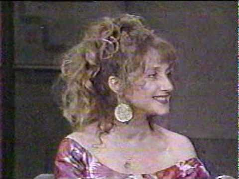 Carol Kane on Letterman, 61887 Part 1