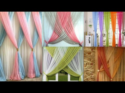 Stylish Net Curtains Designs For Room Decoration Ideas