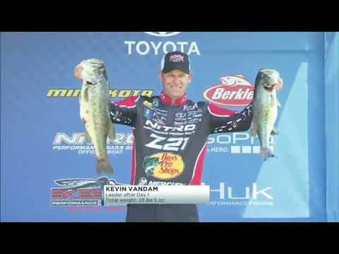 Bassmaster Live: 2016 Toledo Bend Friday, Part 1