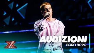 Boro Boro a X Factor con Rapper Gamberetti Audizioni 3