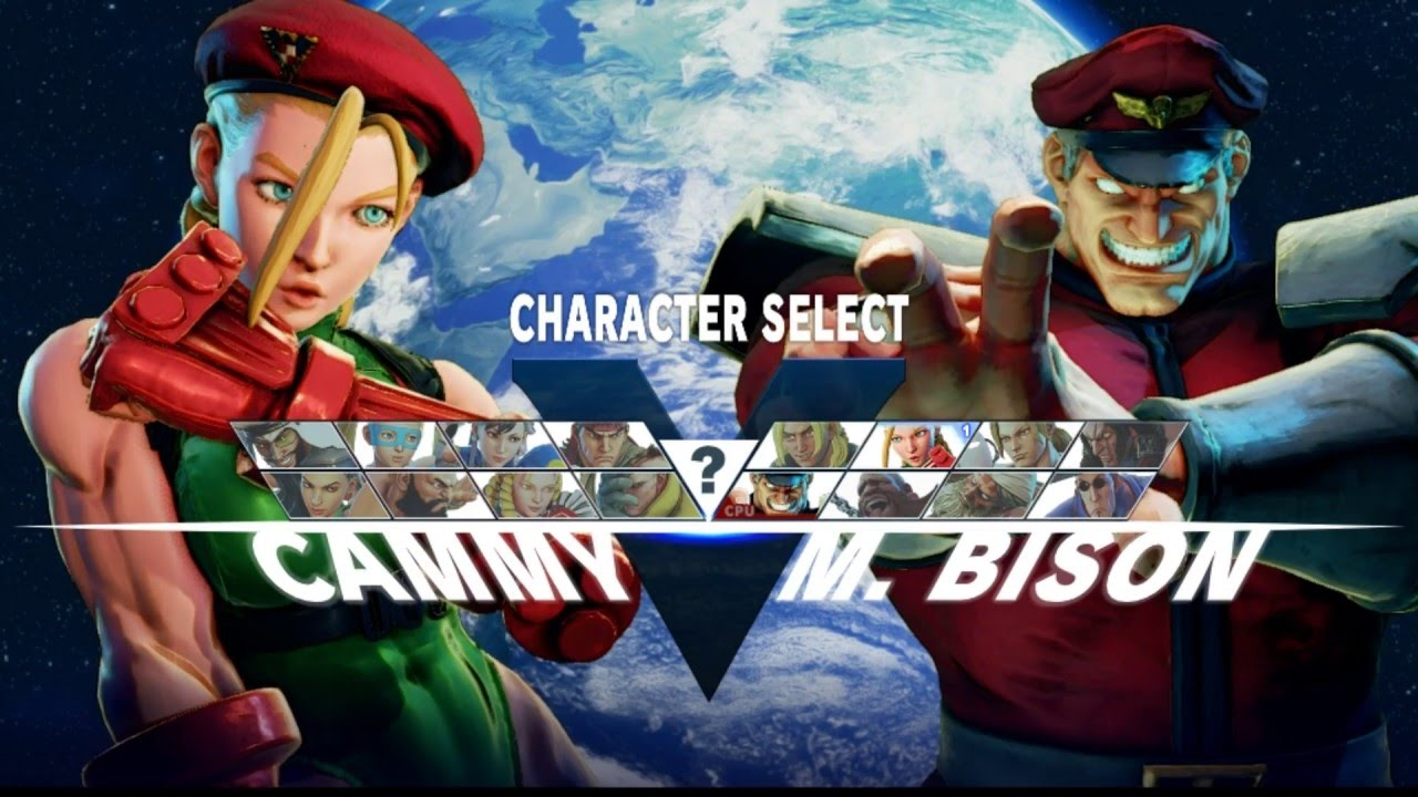 street fighter 5 ost character select theme (extended ...