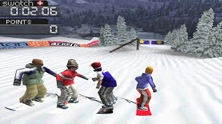 Cool Boarders 3 PS1 Gameplay HD