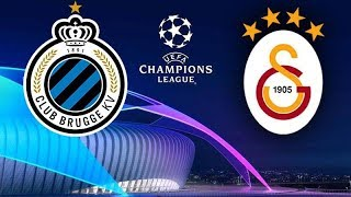 CLUB BRUGGE 0 - 0 GALATASARAY MATCH SUMMARY / CHAMPIONS LEAGUE / GROUP A 18.09.2019