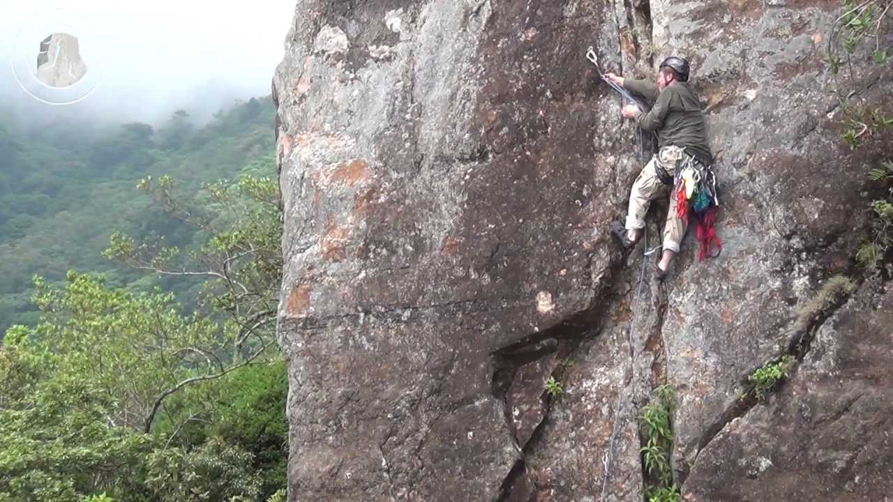 Costa Rica Pico Blanco 2013 Rock Climbing Youtube