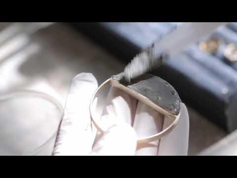 BAARA Jewelry - Process Peek - Concrete Jewelry