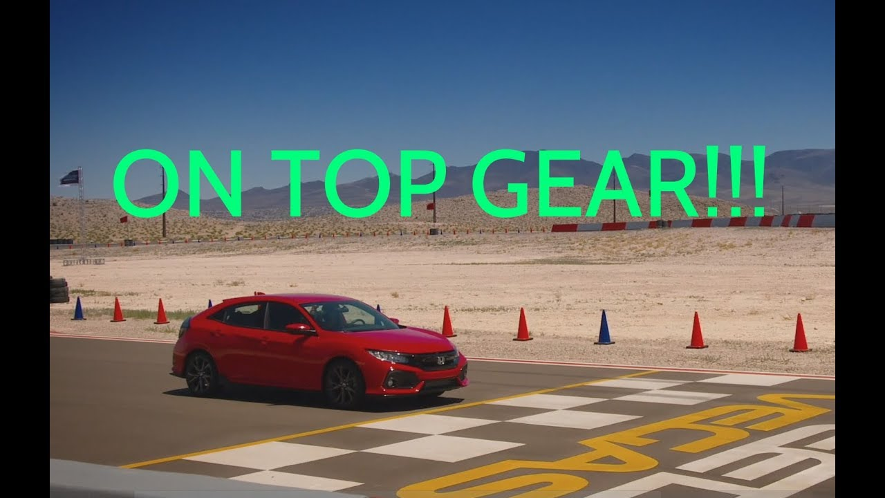 2017 Honda Civic Hatchback  ITS ON TOP GEAR  YouTube