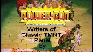 Power Con: Classic Toon TMNT Writers Panel