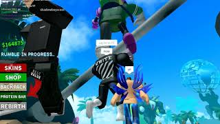 Roblox Boxing Simulator 2 (Grind Montage)