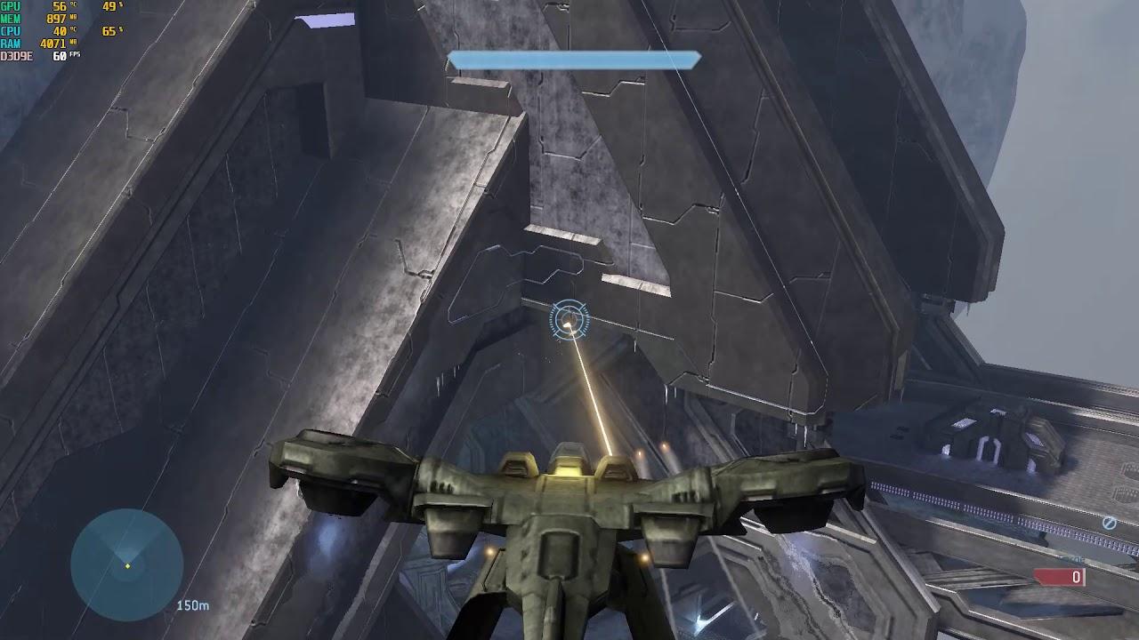 HORNET on NARROWS Halo 3