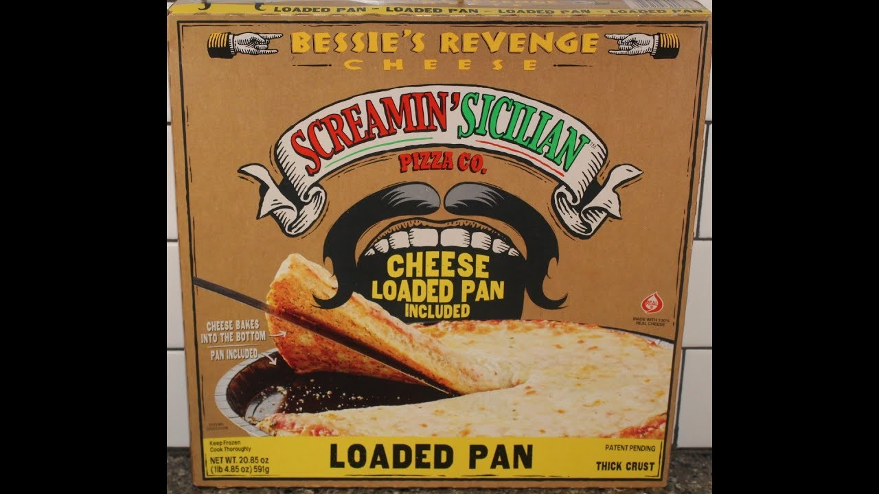 Screamin Sicilian Pizza Co Bessies Revenge Loaded Pan Pizza Review
