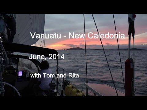 Vanuatu - New Caledonia sailing with Tom and Rita