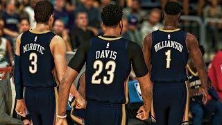 Dynamic Duo - NBA 2K19 Zion Williamson My Career Ep. 28