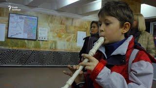 Вірш Шевченка замість жетона в метро Києва