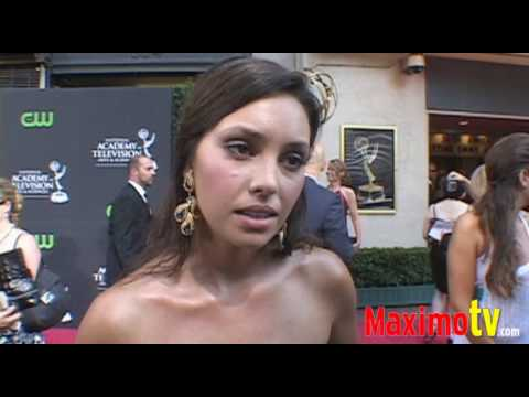 Emily O'Brien Interview at 36th Annual Daytime EMMY Awards Arrivals