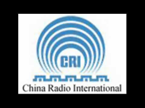 CRI - China Radio International - signing on and off on shortwave