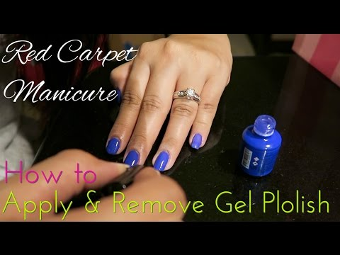 How to Apply & Remove Red Carpet Gel Nail Polish
