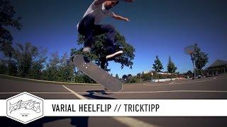 How to Varial Heelflip - einfach und schnell Skateboard Tricks lernen (deutsch/german)
