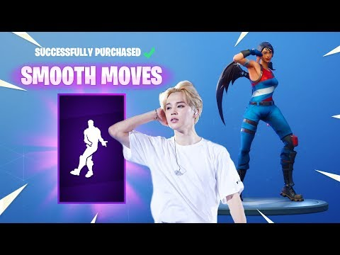 *NEW* BTS SMOOTH MOVES DANCE! [Fortnite Item Shop Emote September 30]