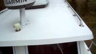 2009 Seaway Maine Built 25 Coastal Cruiser Walkway