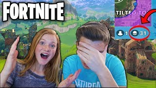 SHE'S BETTER THAN NINJA?!? Teaching My LITTLE SISTER How to Play FORTNITE! (Fortnite Battle Royale)