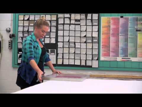 Silk Screen Printing Workshop with Katarzyna Koralewska