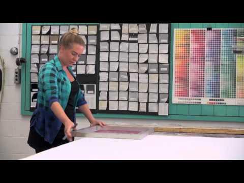 Silk Screen Printing Workshop With Katarzyna Koralewska