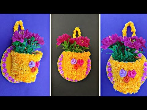 DIY Simple Method To Make Wall Hanging || Wall Decoration.