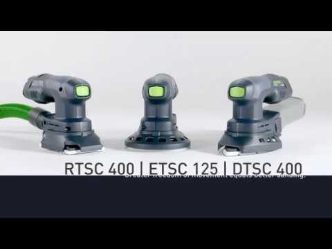 Cordless compact sander | RTSC 400 | ETSC 125 | DTSC 400