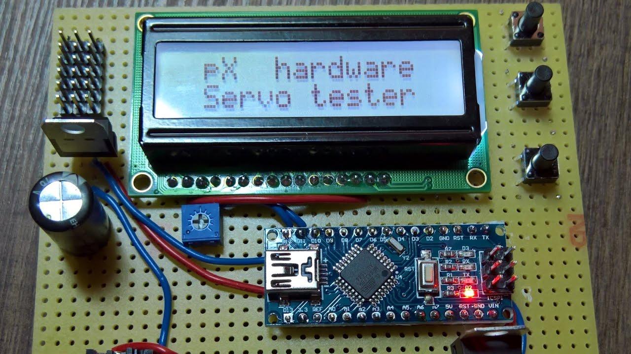 Servo Tester Circuit Servo Servo Tester Simple