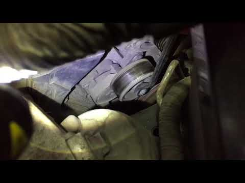 2012 Acura TL alternator replacement