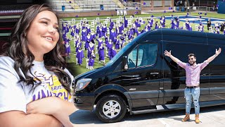 Buying a Luxury Van to Surprise My Sister for Her High School Graduation!