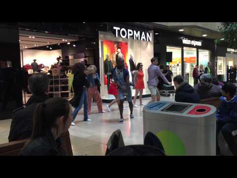 Topman topshop Peterborough fashion show with dance and music.