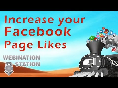 Increase your Facebook Page Likes - w/o buying them