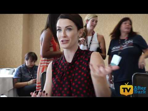 Bridget Regan Sasha Cooper from The Last Ship at SDCC 2016