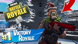 MAX SGT WINTER Skin Gameplay In Fortnite Battle Royale