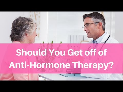 Should You Get off of Anti-Hormone Therapy for Breast Cancer?
