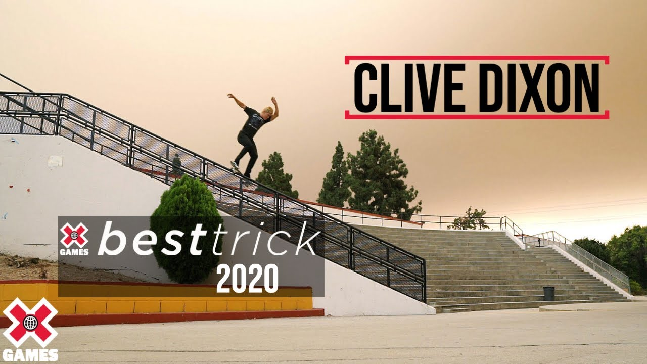Clive Dixon: REAL STREET BEST TRICK 2020 | World of X Games