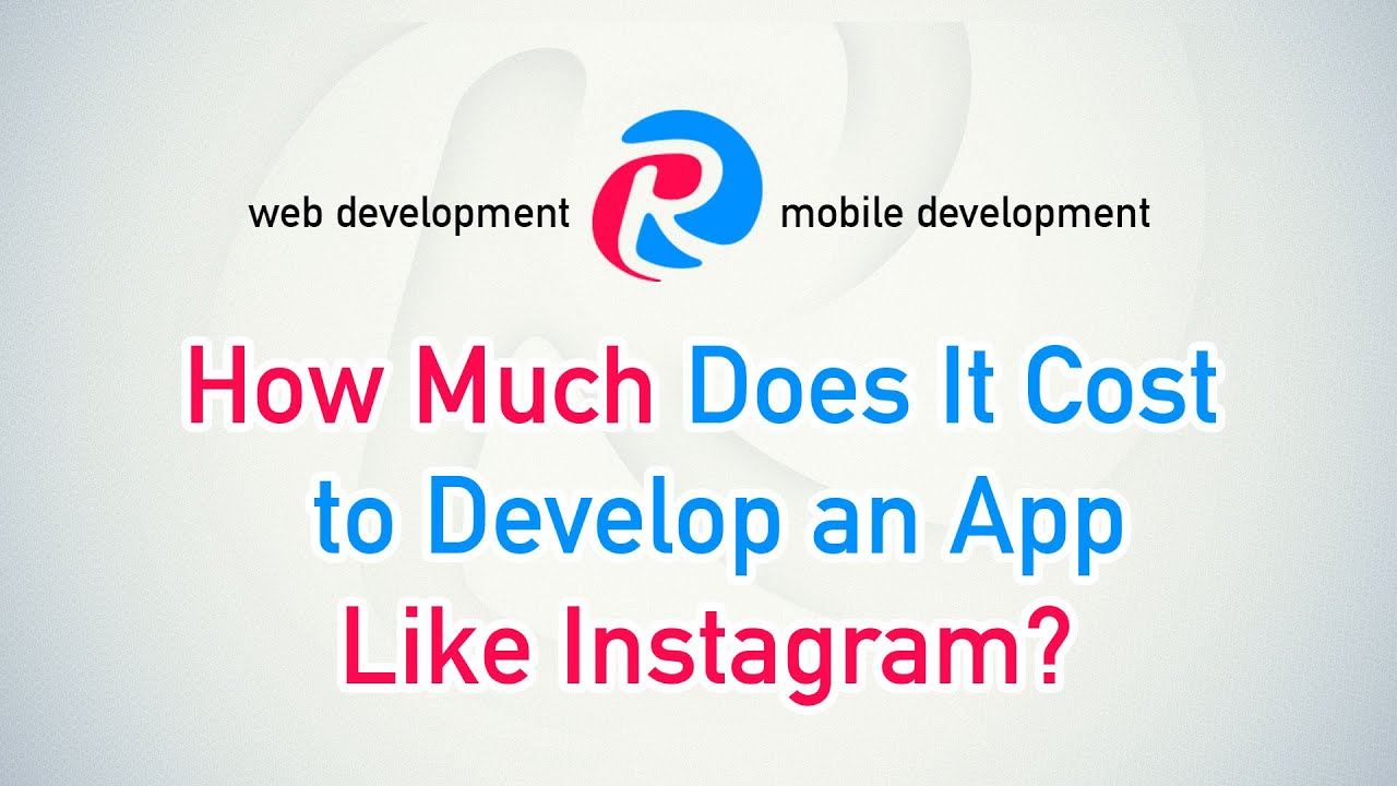 How Much Does It Cost To Develop An App Like Instagram?  All About Apps By  Cleveroad Inc