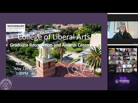 Woodbury College of Liberal Arts Spring 2020 Awards